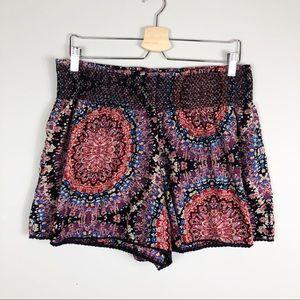 American Rag | Tribal / Moroccan Pattern Shorts